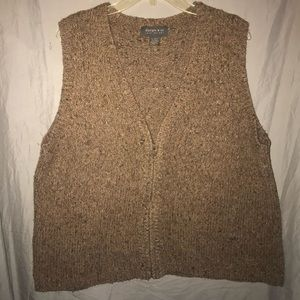 Lane Bryant Sleeveless Wool Blend Sweater Vest